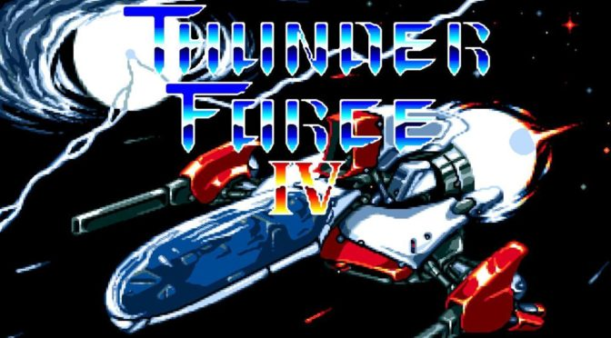 Thunder Force IV is now available from Data Discs