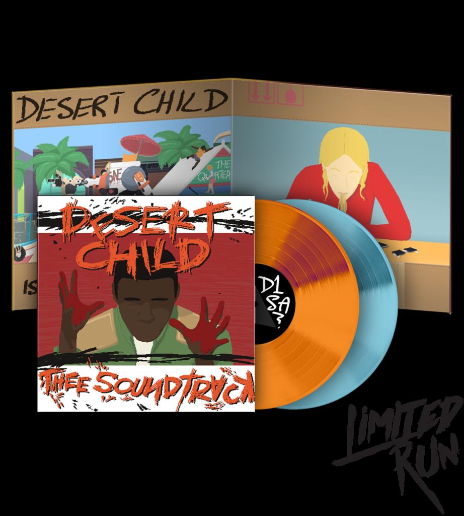 Desert Child - Front & Vinyl