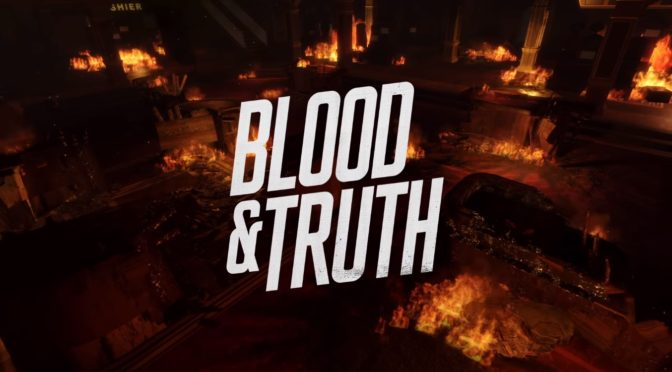 Black Screen Records to release Blood & Truth vinyl soundtrack