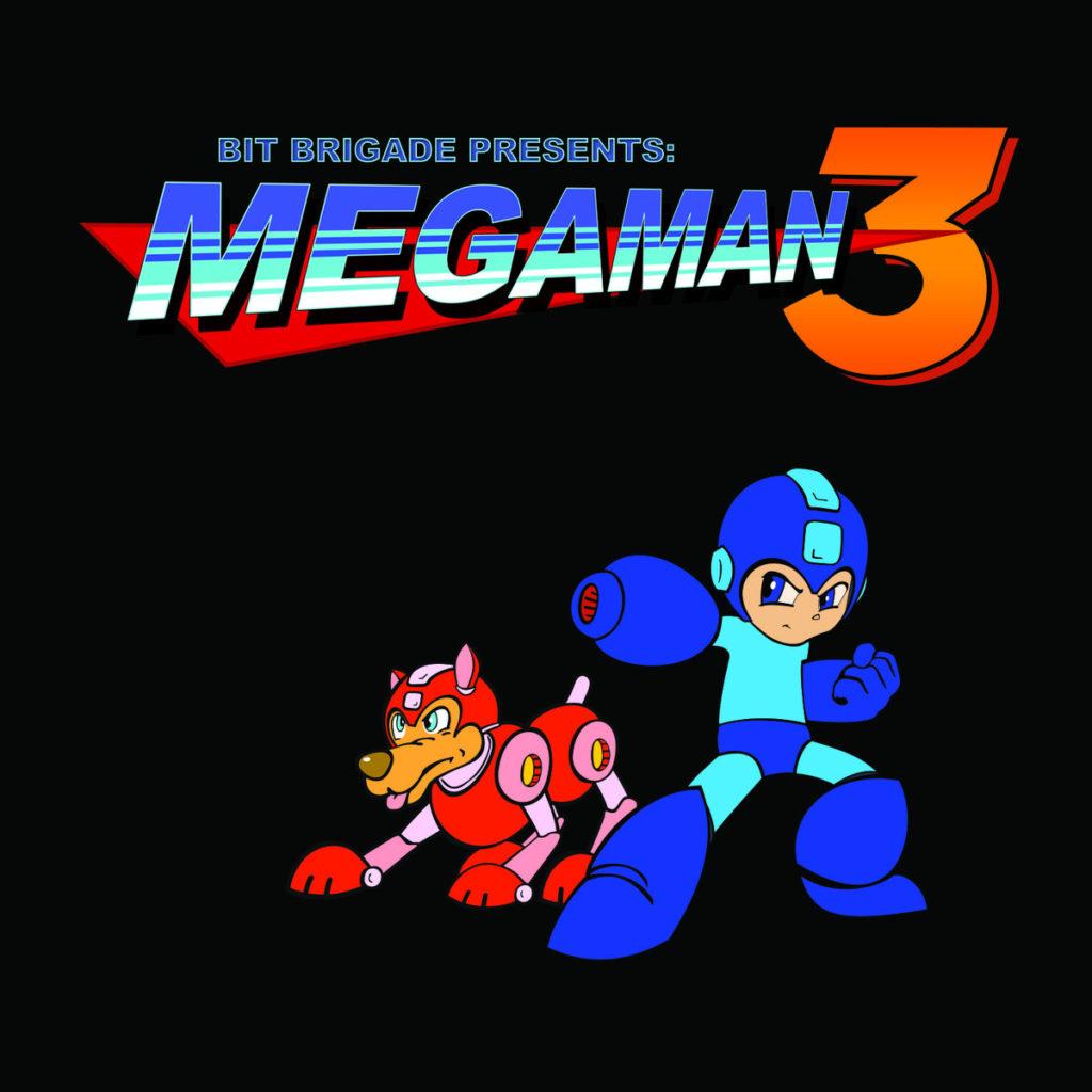 Bit Brigade Mega Man 3 - Front