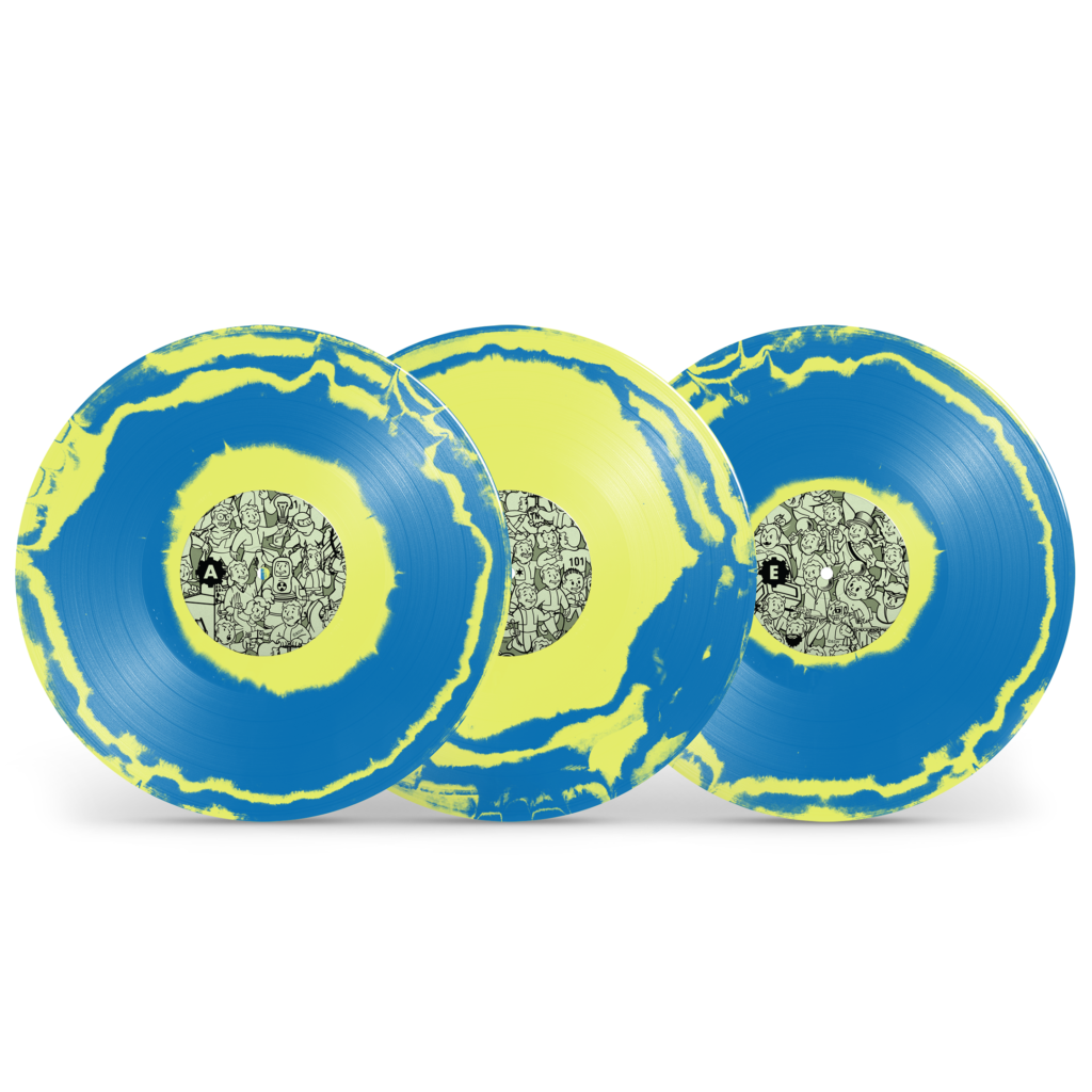 Fallout 3 - Box Yellow/Blue Vinyl