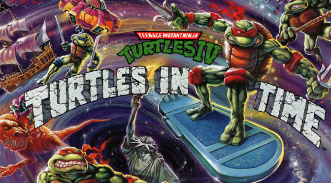 Teenage Mutant Ninja Turtles: Turtles In Time vinyl soundtrack coming from iam8bit