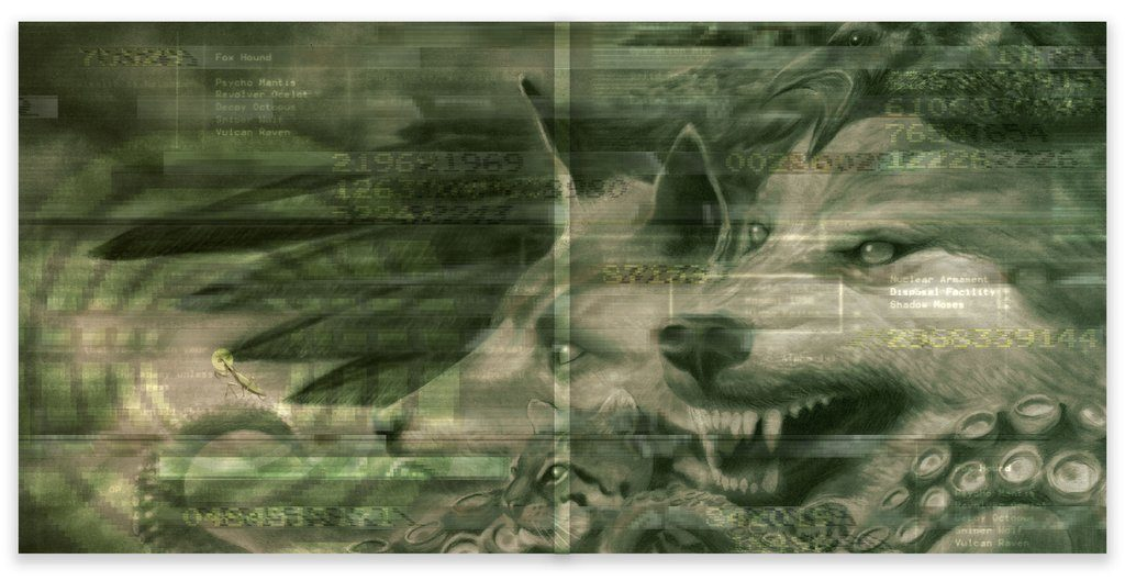 Metal Gear Solid - Gatefold