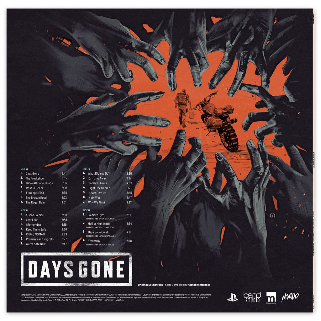Days Gone - Back