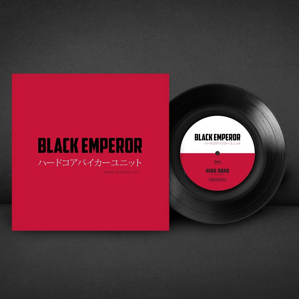 Black Emperor - Front & Vinyl
