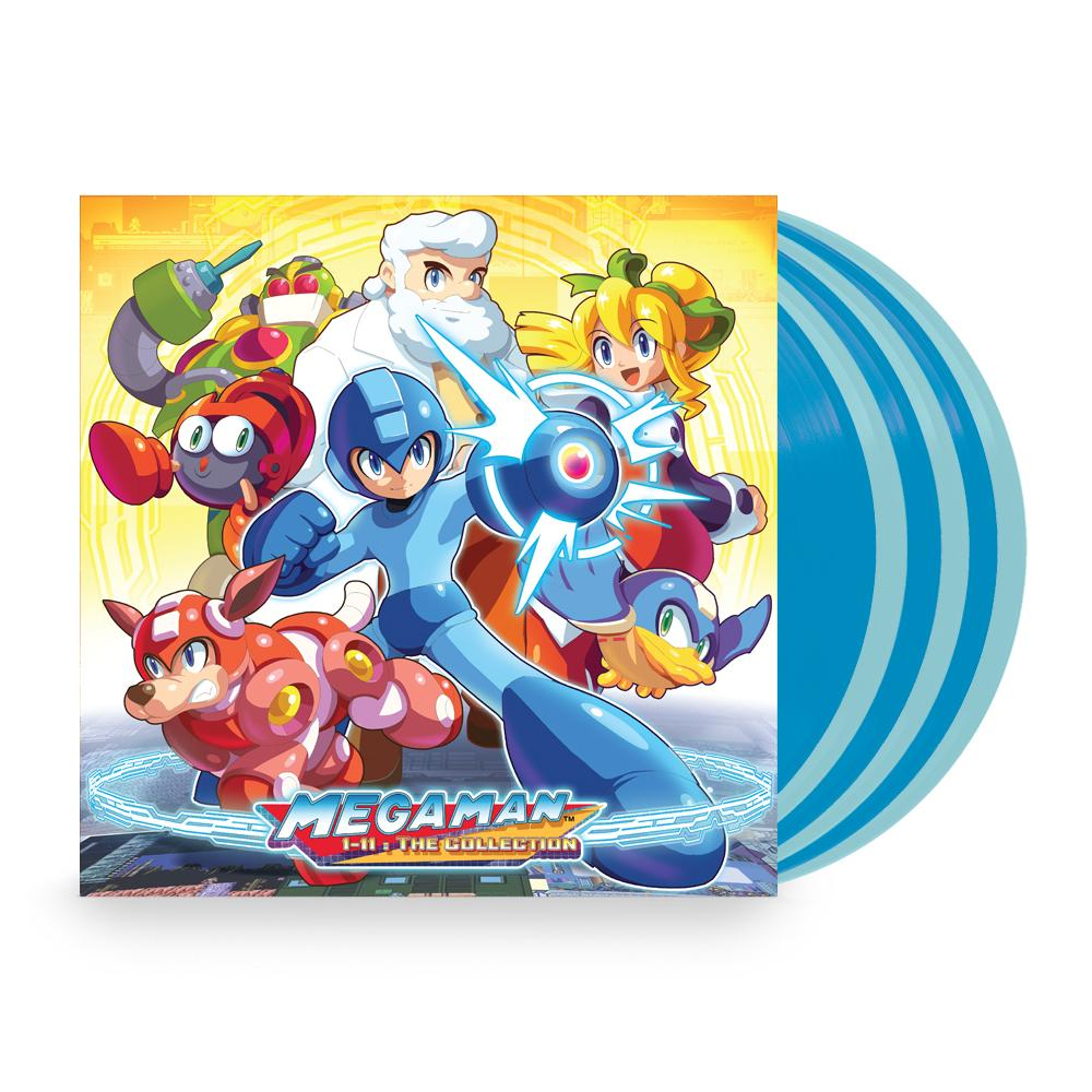 Mega Man 1-11: The Collection - Front