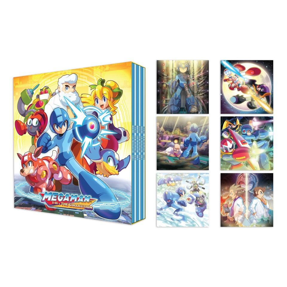 Mega Man 1-11: The Collection - Sleeves