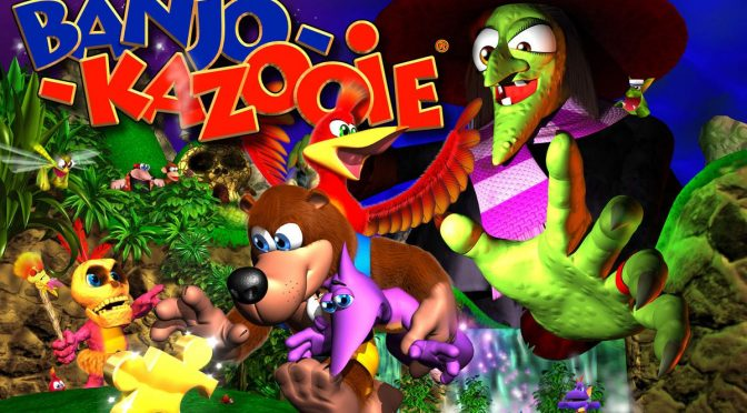 Banjo-Kazooie 4LP box set available from Fangamer
