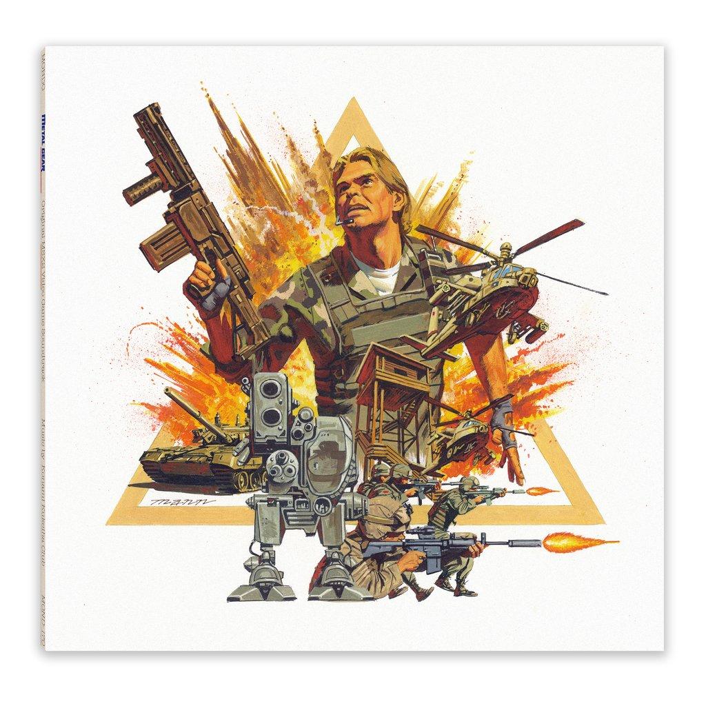 Metal Gear MSX2 - Front