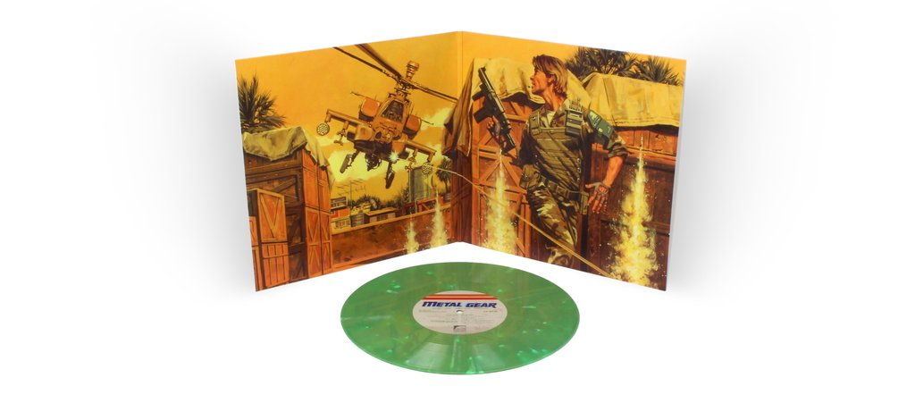 Metal Gear MSX2 - Gatefold