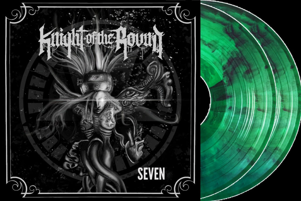 Knight Of The Round Seven - Front & Vinyl