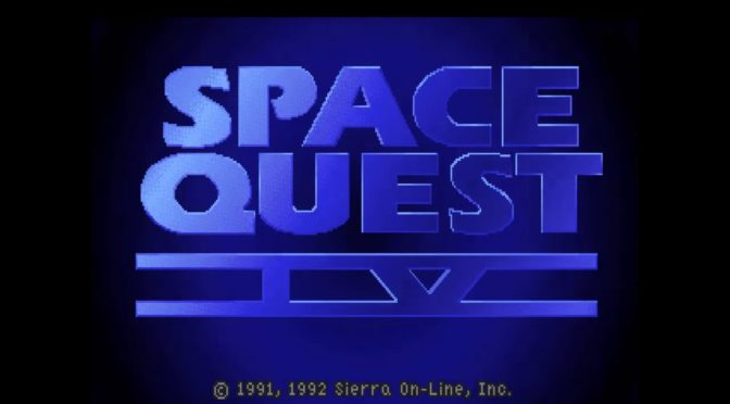 Space Quest IV reorchestrated album can be backed on Qrates