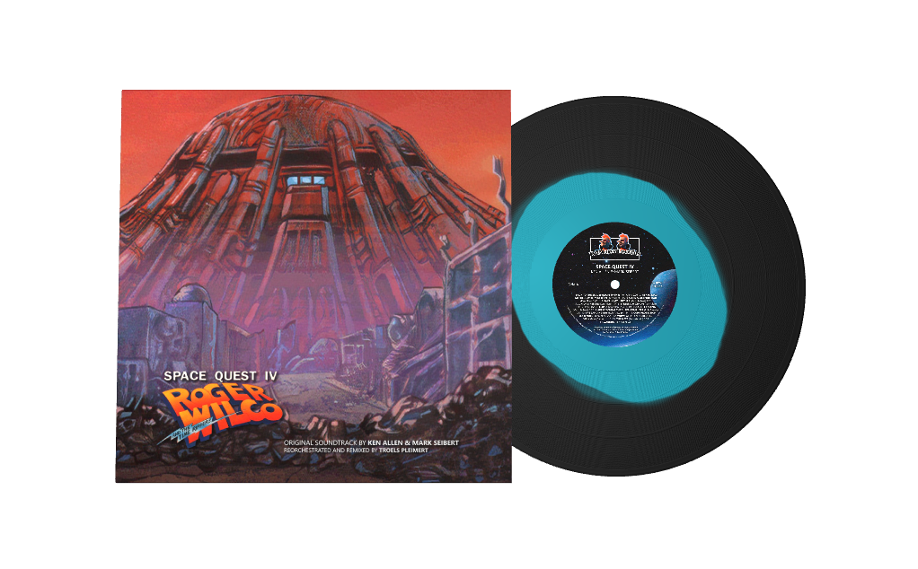 Space Quest IV: Reorchestrated And Remixed - Front & Record