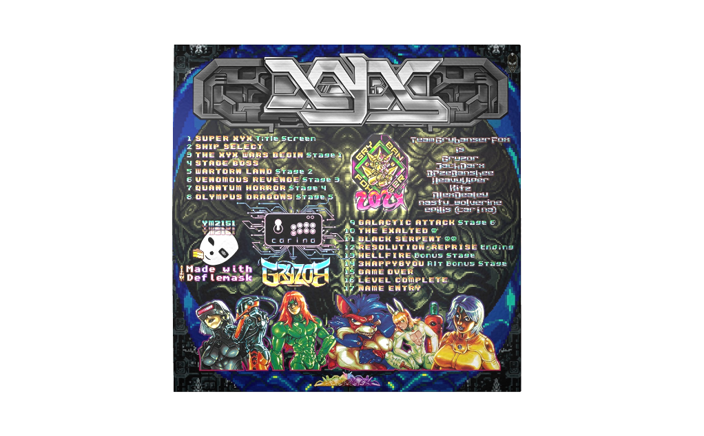 Super XYX - Back
