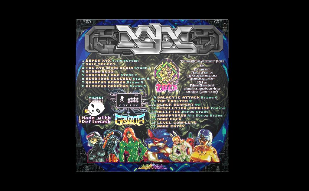 Super XYX - Back