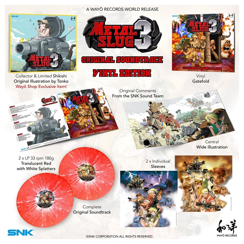 Metal Slug 3 - Contents