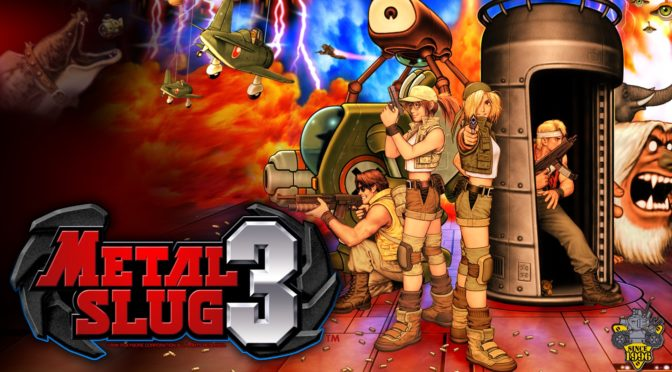 Preorders for the Metal Slug 3 2LP soundtrack are now live