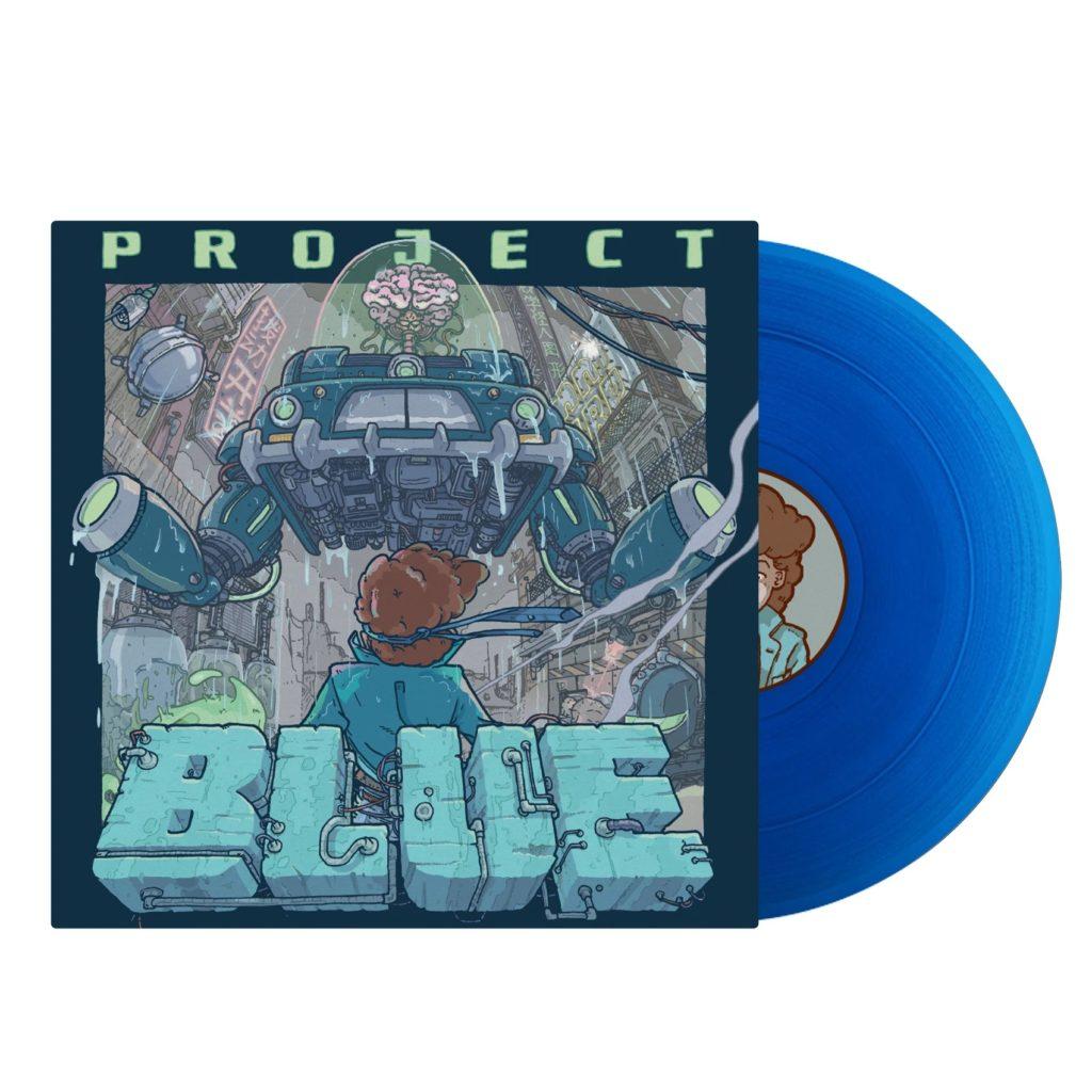 Project Blue - Front & Vinyl