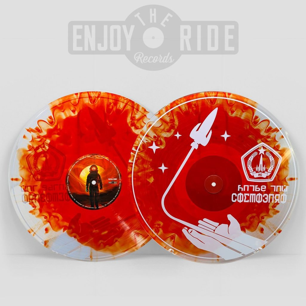 Red Matter - Splatter Vinyl