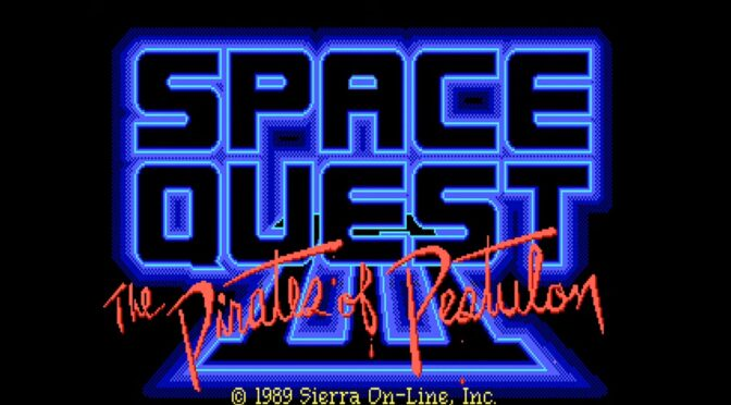 Reorchestrated version of the Space Quest III soundtrack can be backed on vinyl on Qrates