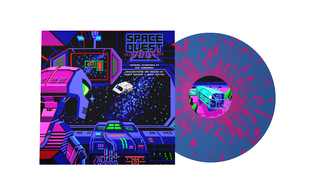 Space Quest III Reorchestrated - Front