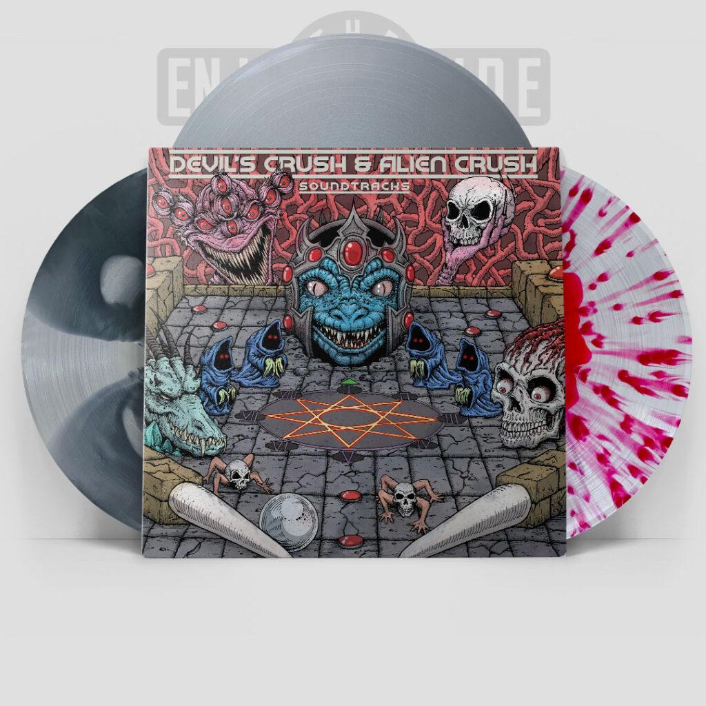 Devil's Crush & Alien Crush - Front & Vinyl