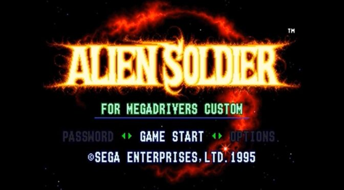Alien Storm and Alien Soldier to be released by Data Discs