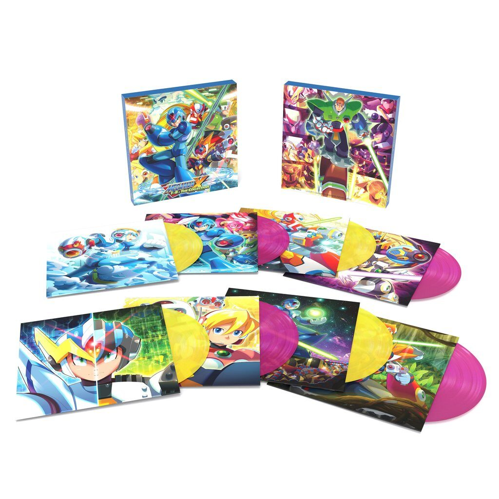 Mega Man X1-8: The Collection - Contents