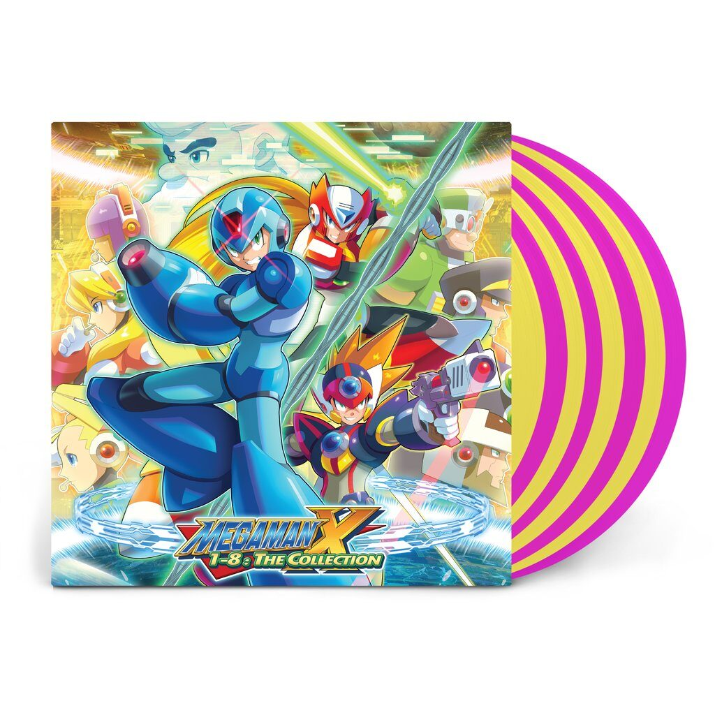 Mega Man X1-8: The Collection - Front