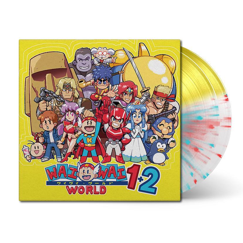 Wai Wai World - Front + Vinyl BSR