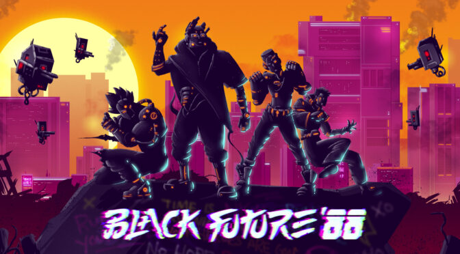 Black Future 88 vinyl soundtrack preorders up from Laced Records