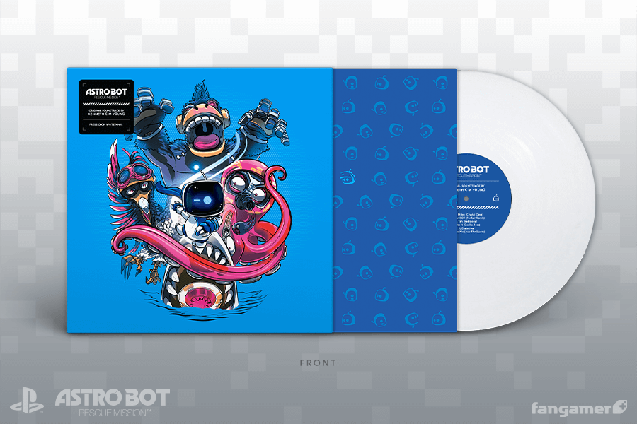 Astro Bot: Rescue Mission - Front