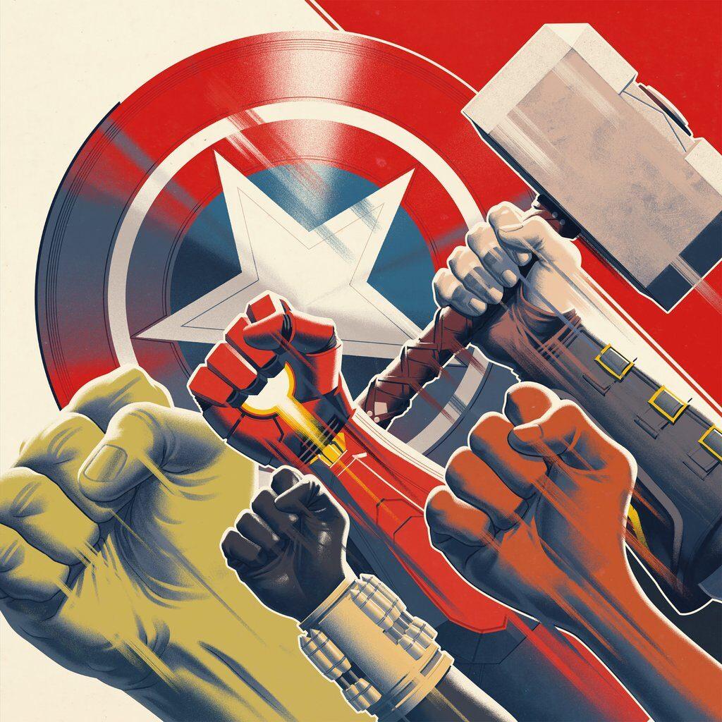 Marvel's Avengers - Front