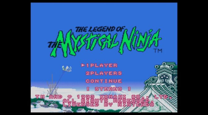 Preorders for The Legend Of The Mystical Ninja now live via Ship To Shore