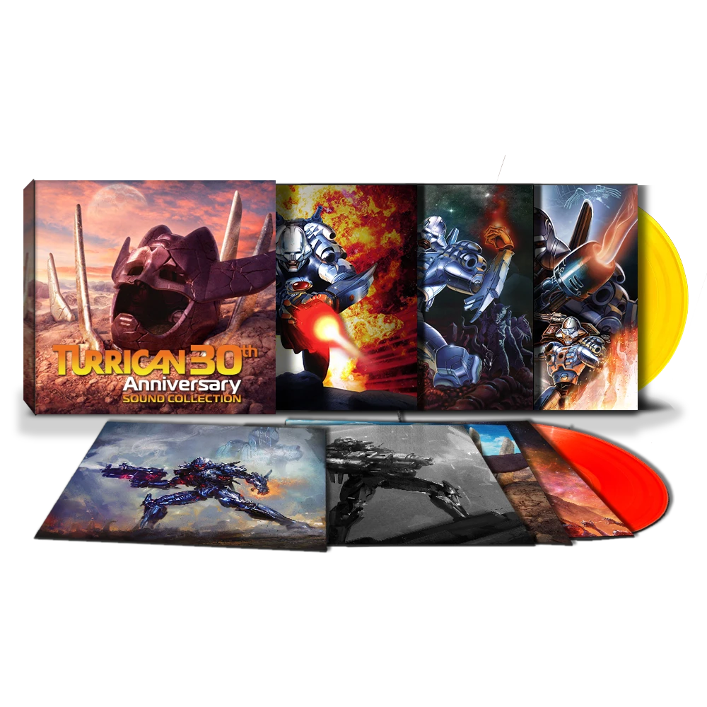 Turrican Sound Collection - Contents
