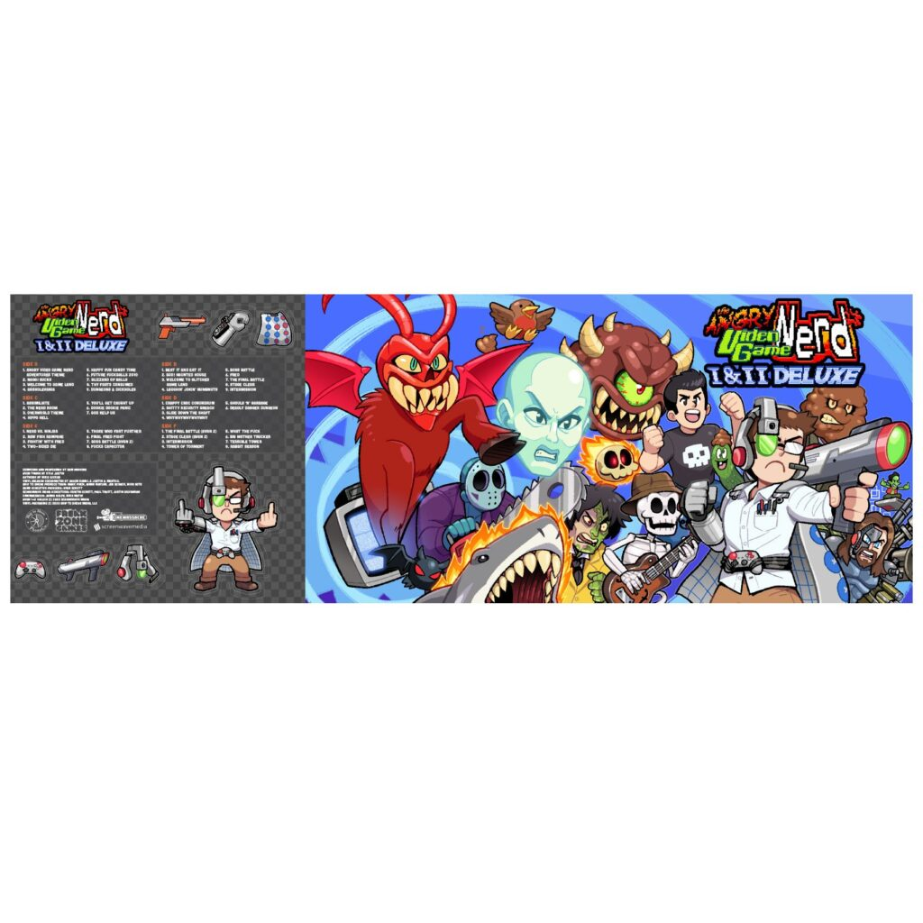 The Angry Video Game Nerd 1&2 Deluxe - Gatefold