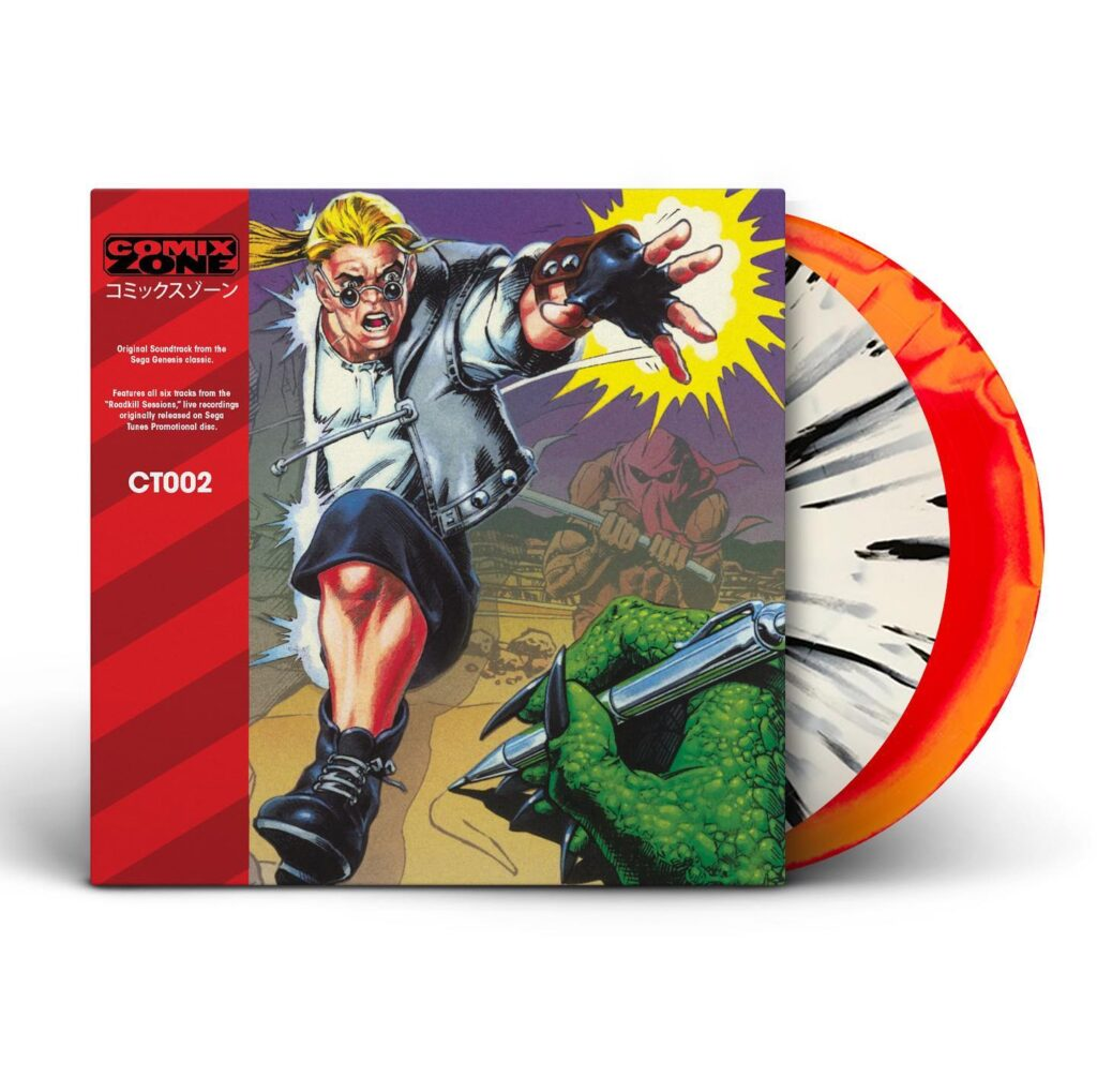 Comix Zone - Front