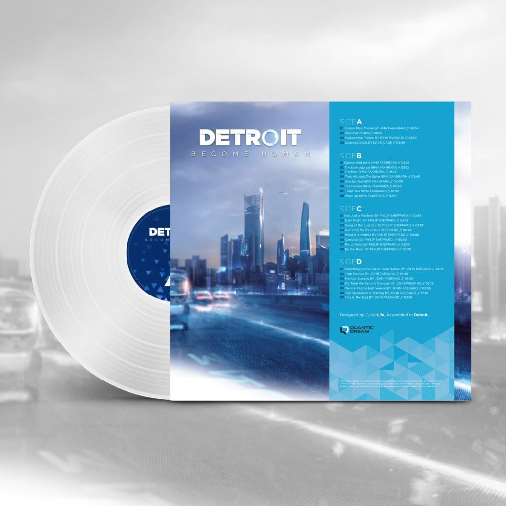 Detroit: Become Human - Back Cover