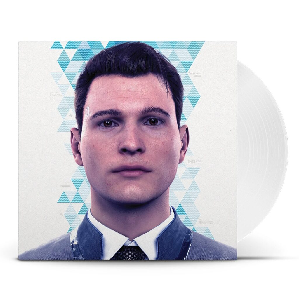 Detroit: Become Human - Front Cover & Vinyl