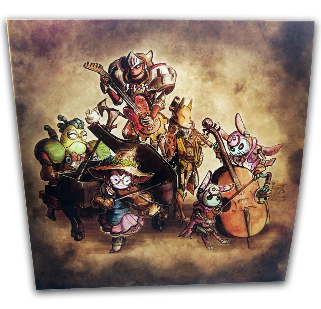 Steamworld Quest - Front