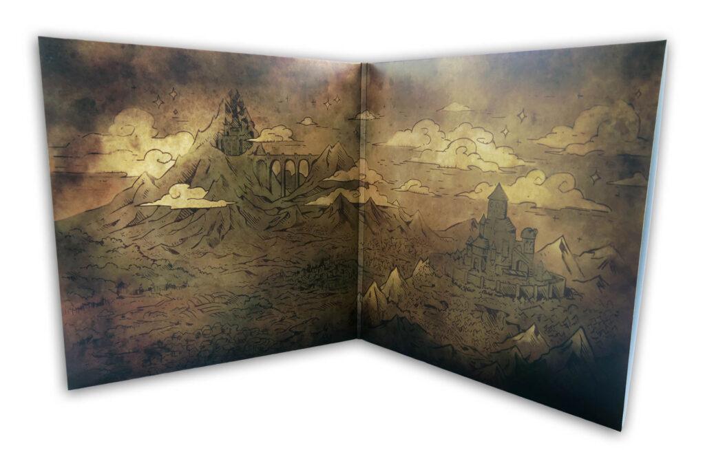 Steamworld Quest - Gatefold