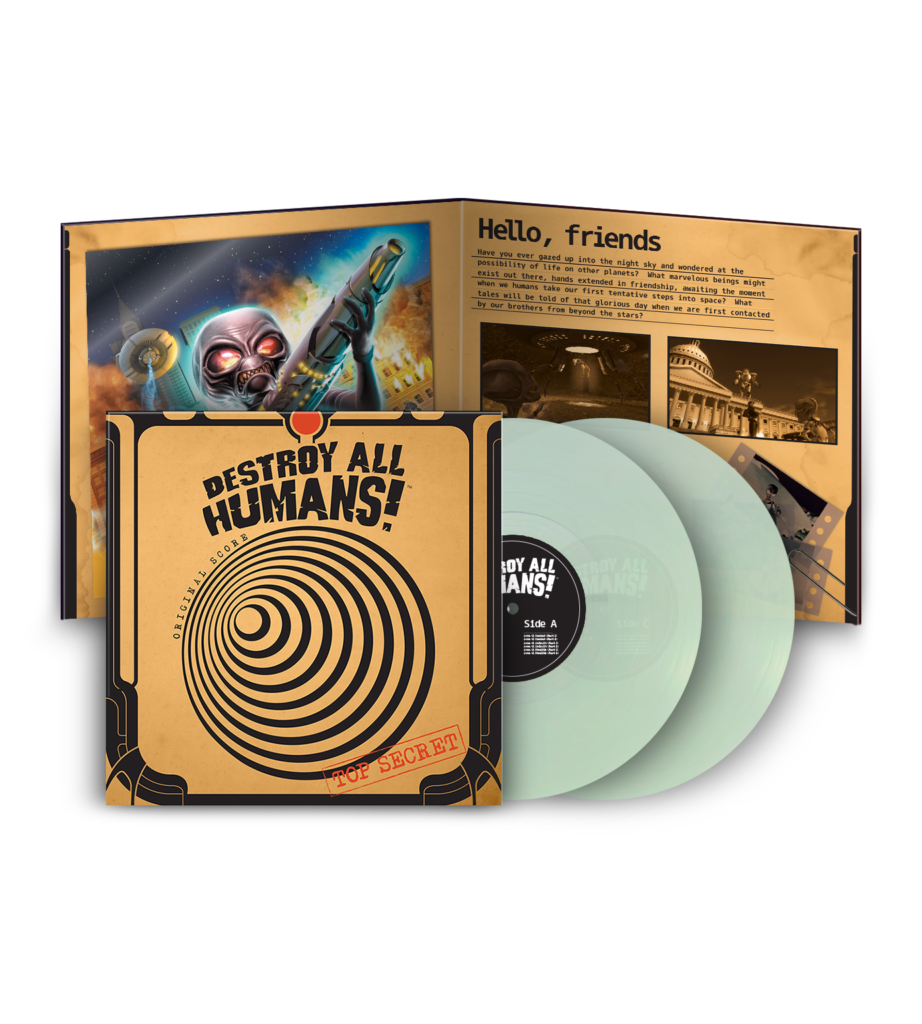 Destroy All Humans! - Contents