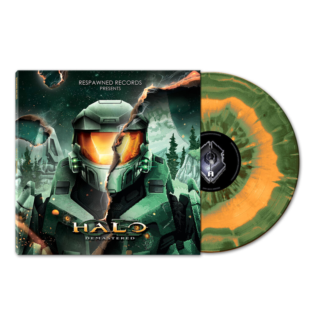 Halo Demastered - Front & Green Vinyl
