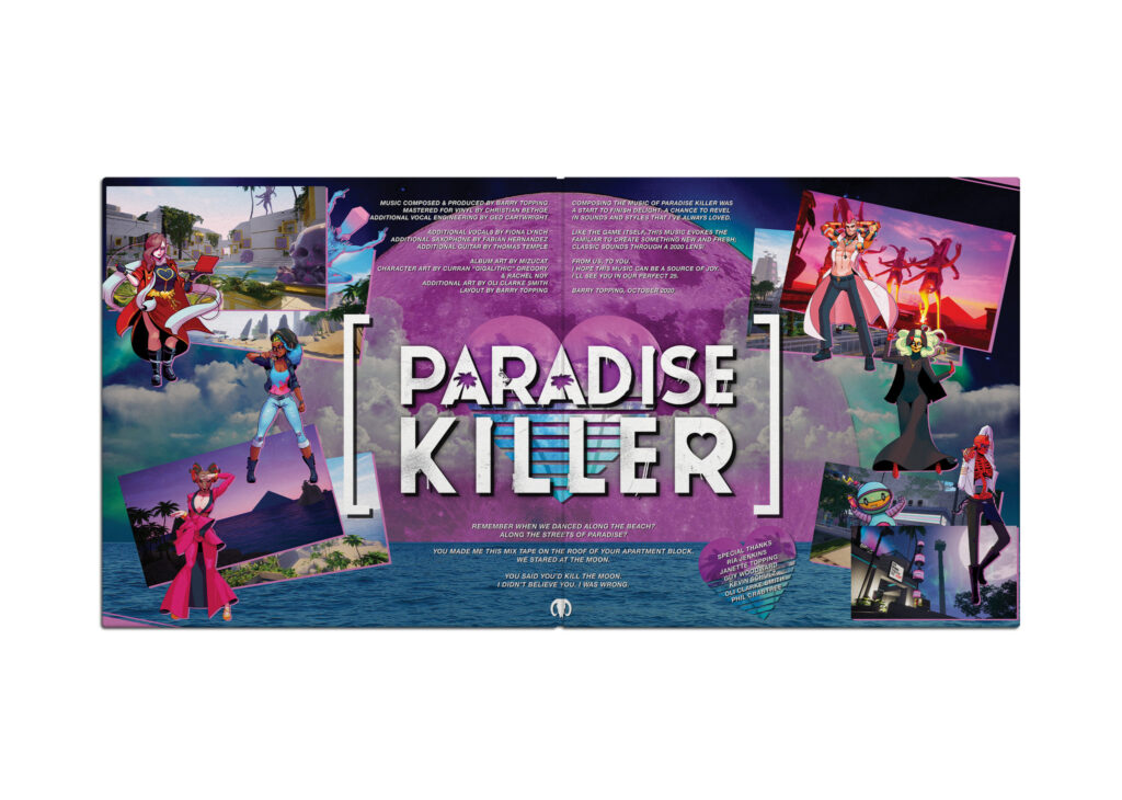 Paradise Killer - Gatefold