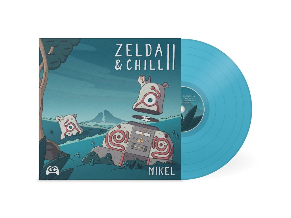 Zelda & Chill II - Front