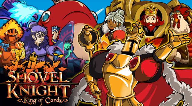 Brave Wave's Shovel Knight: King Of Cards 3LP now up for preorder