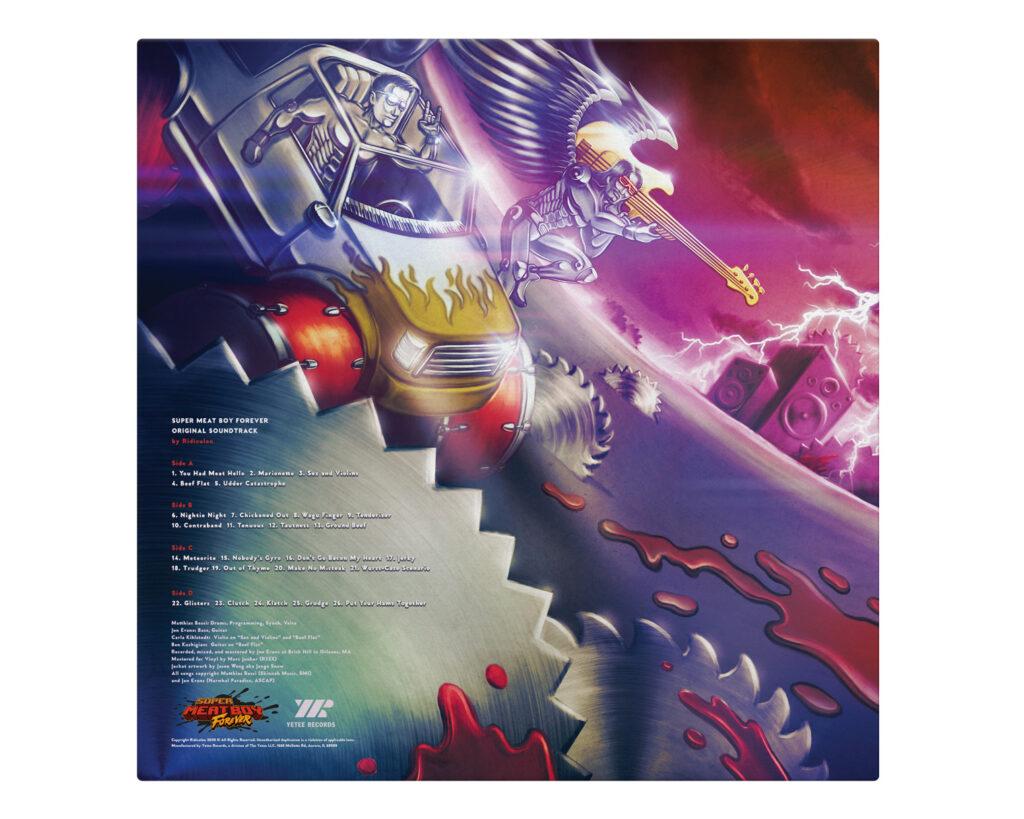 Super Meat Boy Forever - Back