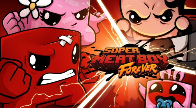 Super Meat Boy Forever vinyl soundtrack up for preorder via Yetee Records