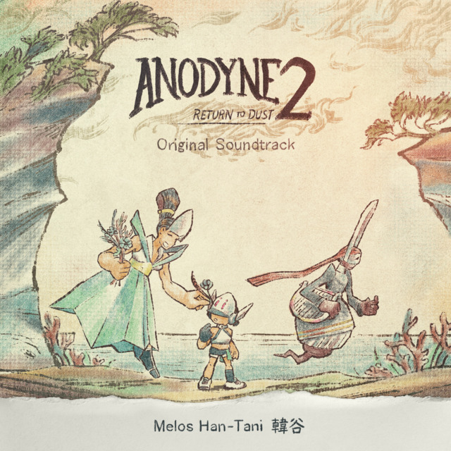 Anodyne 2: Return To Dust - Front