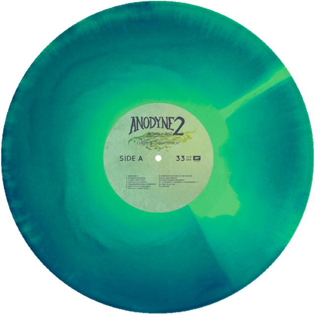 Anodyne 2: Return To Dust - Vinyl